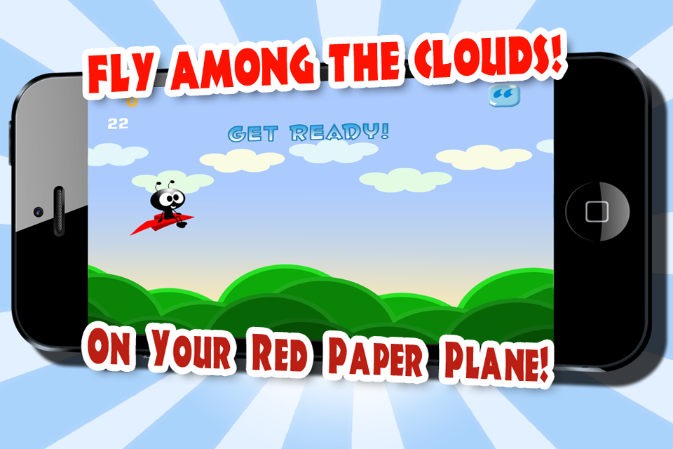Air Flow - Tiny Paper Wings - Free Flying Game